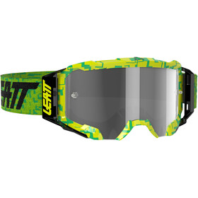 Leatt Velocity 5.5 Anti Fog Svømmebriller, neon lime/light grey